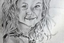 Drawings / All my hand drawn portraits
