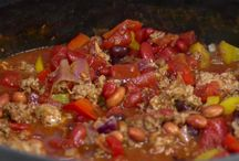 Soups, chili , and stews / by Romona Leslie