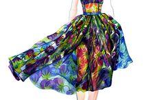 Y09 Fashion design - colour board