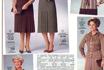 1970's & 1980's Fashion