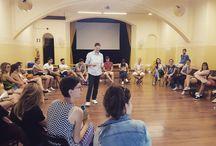 Instagram Durante lo speech sulla #scritturacreativa con 40 ragazzi provenienti da tutta #Europa. Mattinata fantastica! :D