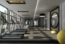 exercise rooms / by Leanne Tammaro