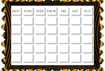 Free Printable Calendars / Keep track of the year with free printable calenders. For all dates and tasks in the year printable calenders will keep you on schedule.