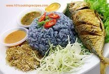 Nasi Kerabu / Malaysia Nasi Kerabu