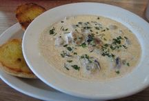 Soups, Stews and Chowders / by Pat Bolton