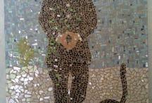My art Mozaïek -Dominga Art /  Dominga art geeft ook workshops in Mozaïeken