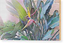 BIRDS OF PARADISE - DESIGN / Ayaneart.com - Shop Online #home #decor #artforsale #Painter #Painting#Art #Abstract #abstractart#abstractpanting #artlovers #acrylic#contemporaryart #onlinesale #canvas #print #bag #artprint #canvasprint #cover #coverphone #card #greetingcard #pillow #decoration #home #design #house #mug #yoga #yogamats #tshirt #poster #wallart #fleeceblankets #duvetcovers #shower #bathtowels #handtowels #coffeemugs #totebags #mobilecases