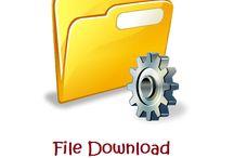 File Download management set up