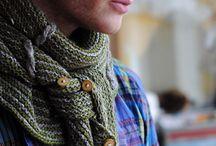Knit shawls, scarfs, wraps etc.