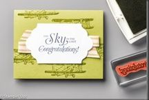 Stampin' Up! Occasion and SAB Catalog 2016 / Product and items made from the Stampin' Up! Occasion and SAB catalog of 2016