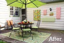 Backyard Renovations / by Tracy Lynn Sharon
