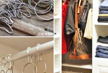 Organizations Ideas / Closet and such / by Lori Moore
