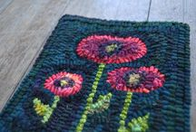 rug hooking and braiding