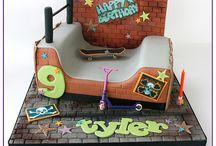 Skate cakes