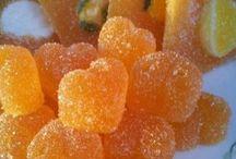 pomerancove zele bonbony