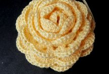 Crocheted flowers / by Anna Westaby