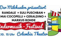 Das große Milchsalon-Festival mit 5 live Acts!
