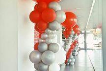 * balloon column inspo *