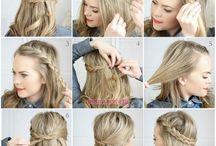 örgülü saç modelleri