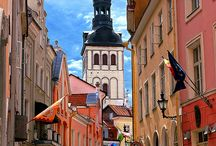 Tallinn, Estonia / What a place to be! It was love at first sight, I wanna go again!
