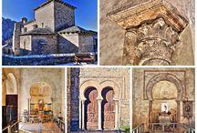 Iglesias, ermitas y eremitorios altomedievales