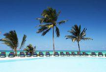 KARAFUU BEACH RESORT & SPA - ZANZIBAR / Il lussuoso resort 5 stelle, si estende lungo una bellissima spiaggia di sabbia bianca, attrezzata con lettini e ombrelloni, proprio davanti alla barriera corallina ed è immerso in un meraviglioso giardino tropicale con le palme che raggiungono la spiaggia.