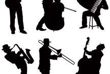 Jazz illusrations