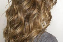 Wavey hair