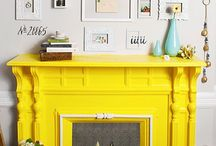 Painted Mantels