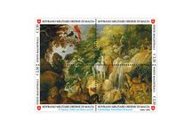 Order of Malta 2016 Stamps / Poste Magistrali 2016 Stamp Issue