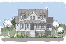 Palm Bay Home Plan / Coastal Cottage Home Plan