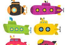 Submarine, Ponorka...