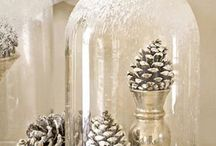 winter/Christmas home decor