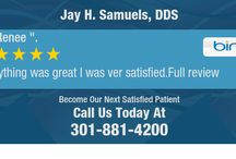 Reviews / Reviews of Jay H. Samuels, DDS in Rockville, MD
