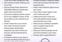 Oneida Police Dept (OPD) Safety Tips