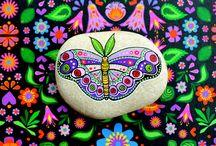 Galets papillon