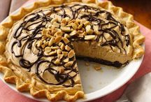 Recipes:  Sinful Deserts (Peanut Butter) / Yummmmmm...peanut butter...peanut butter and chocolate!  / by Karen Riffle