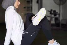 Hijab workout
