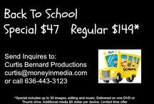 Curtis Bernard Productions / Promotional Videos http://youtu.be/IWTrP_2LSXM