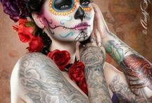 Dia de los muertos/sugar skulls