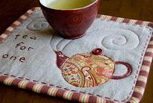 Patchwork- Mug Rugs