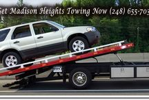 Madison Heights Towing Service / Responsive and Dependable Madison Heights towing service to help auto drivers in their moment of need.