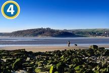 Walking in Carmarthenshire Wales Coastal Path