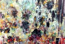 ARISTOTLE FORRESTER / Aristotle Forrester (American, b. 1993) graduated from the Massachusetts College of Art and Design as a Fine Arts major with a concentration in Painting. Through works best described as existential – even sublime – abstraction, Aristotle deconstructs reality to capture the totality of space through the emotive power of color and line.