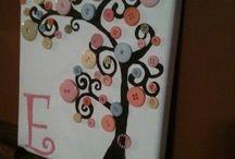 Button art / Kids room