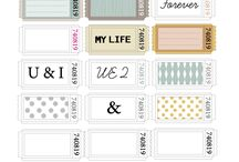 Printables & Fonts / by Amber Davis