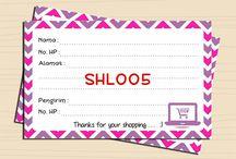 Shipping Stickers / Stiker Pengiriman Ready Design dan juga Custom  WA : 085225379048 Line : @amstore.indo