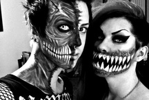 halloween/horror makeup<3 / by Brittany Houston