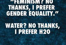 ☾ FEMINIZM ☽ / Ważny nurt niosący ze sobą ważne słowa.