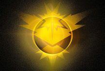 Pokèmon Go ☇ / Team Yellow